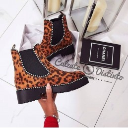 BOTIN MURIEL ANIMAL PRINT